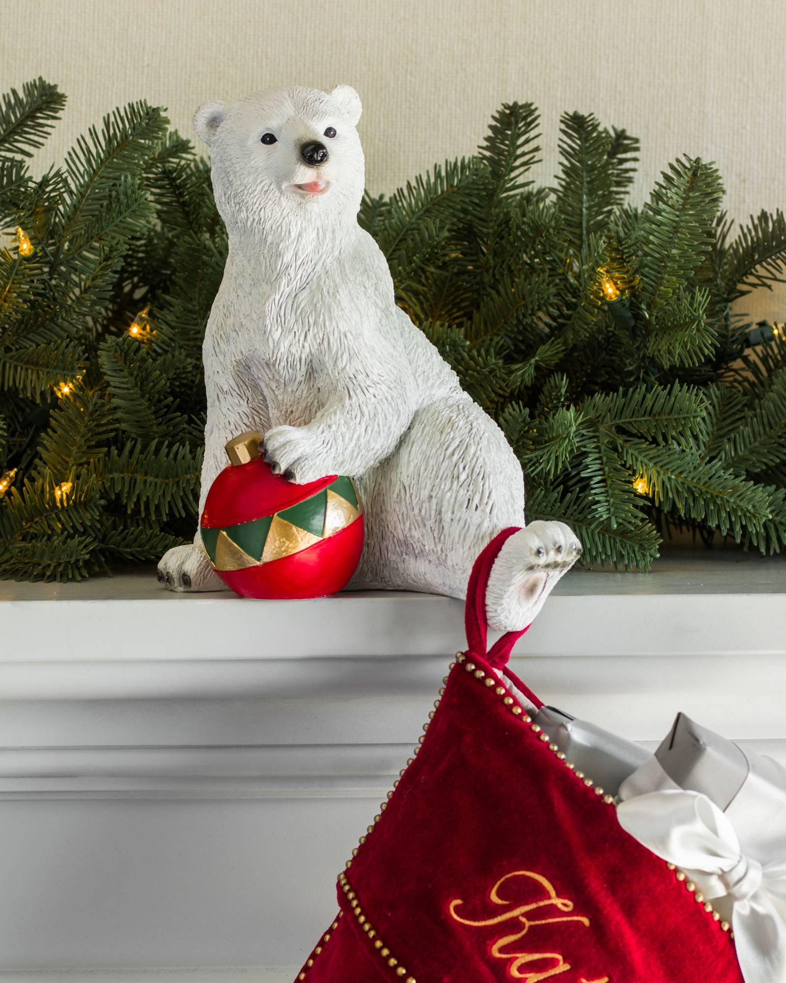 ... Polar Bear Family Stocking Holder Alt ...