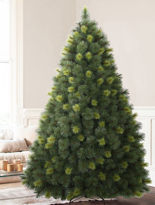 artificial scotch pine christmas trees