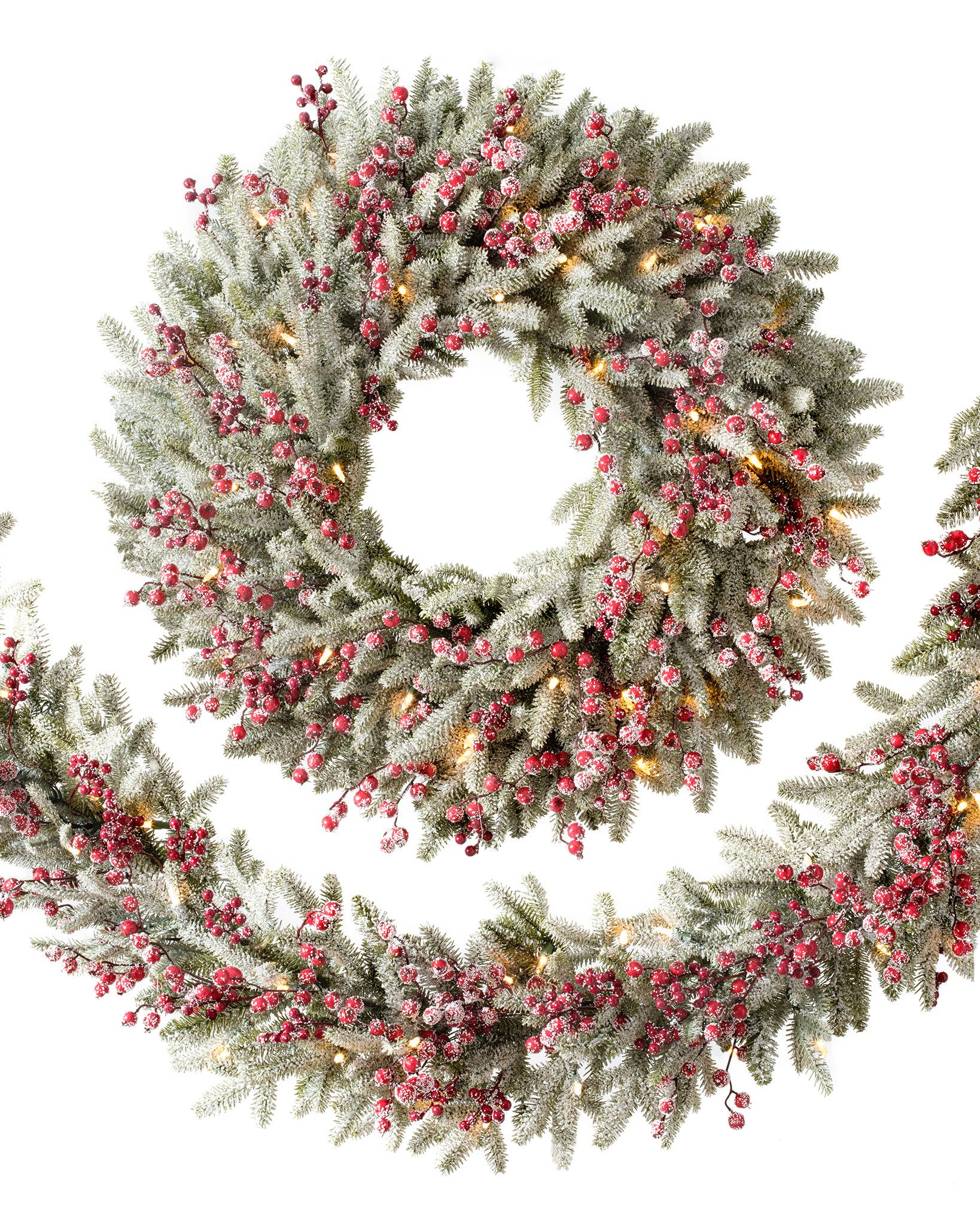 Famous Artificial Christmas Wreaths, Garlands & Foliage | Balsam Hill WR98
