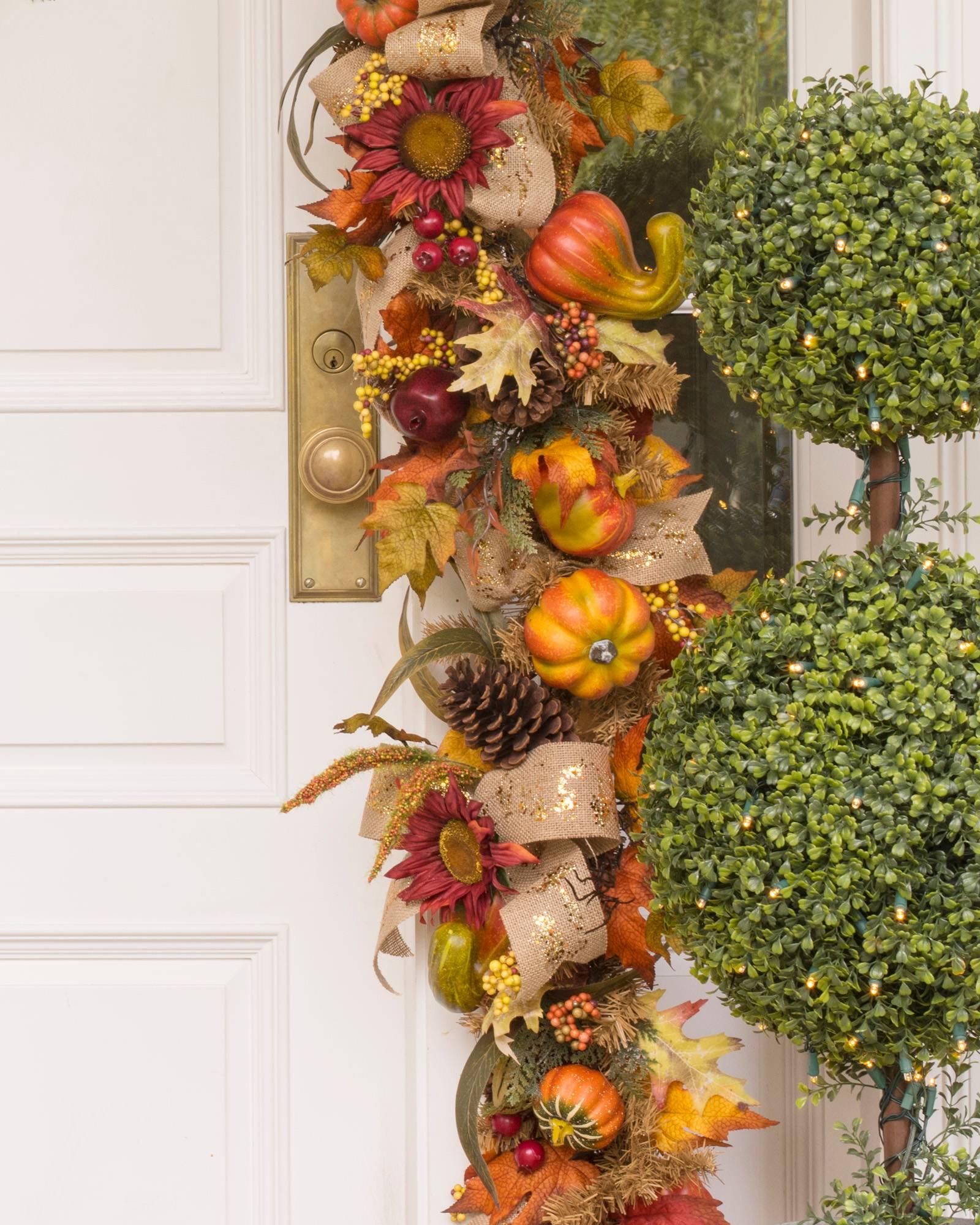 ... Fall Harvest Garland Alt ...