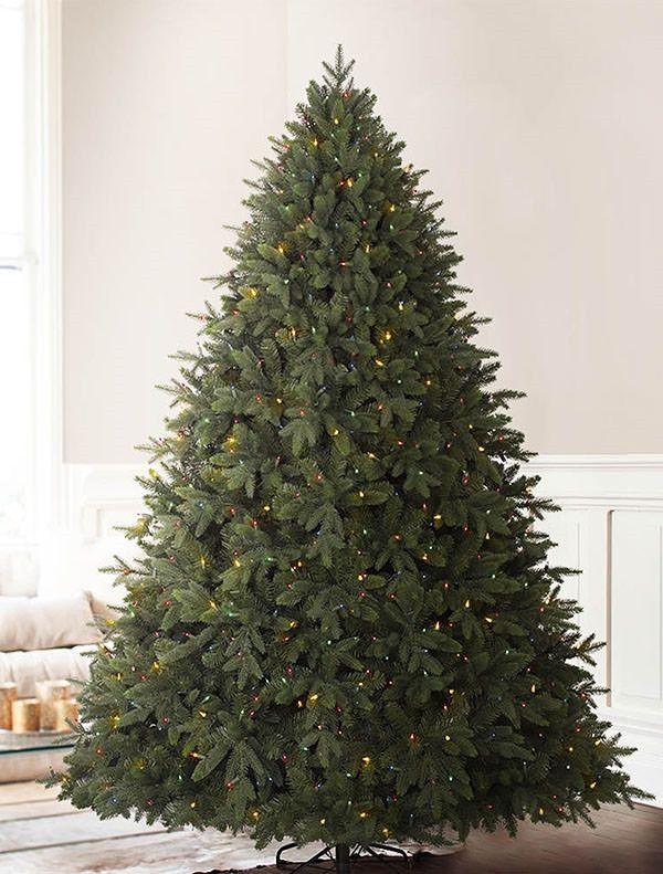 Durango Douglas Fir Wide Artificial Christmas Tree Balsam Hill