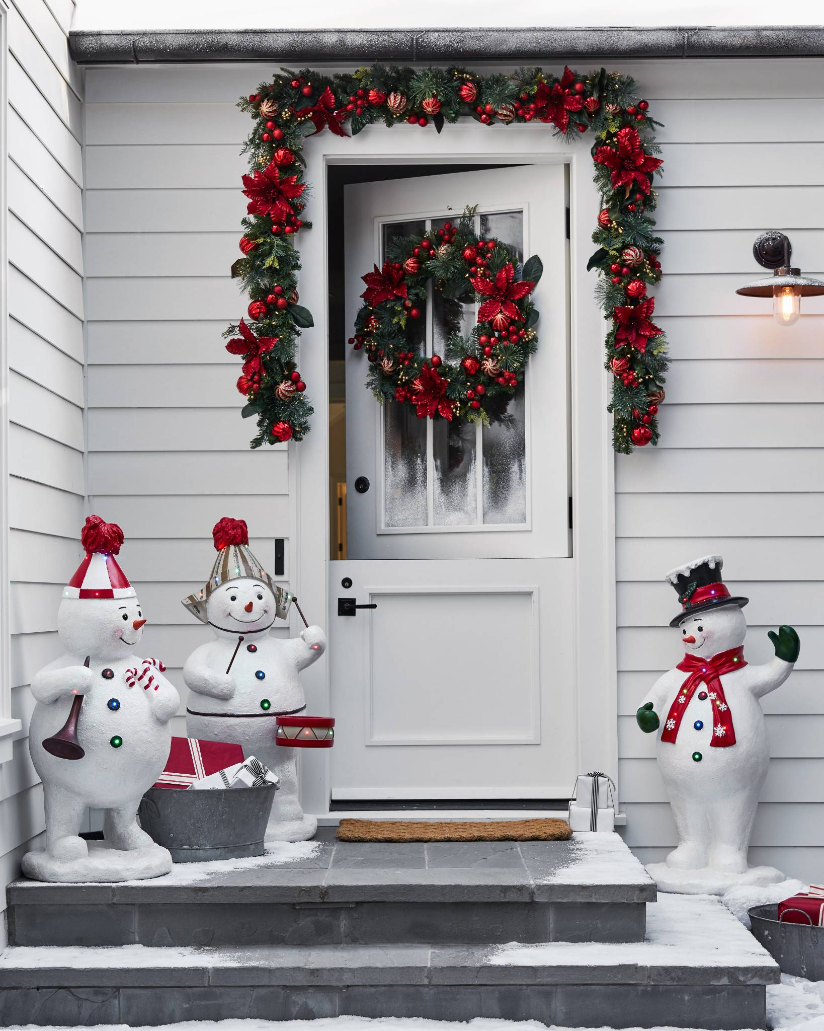 dma snowman homes surprisingly decor christmas decorations