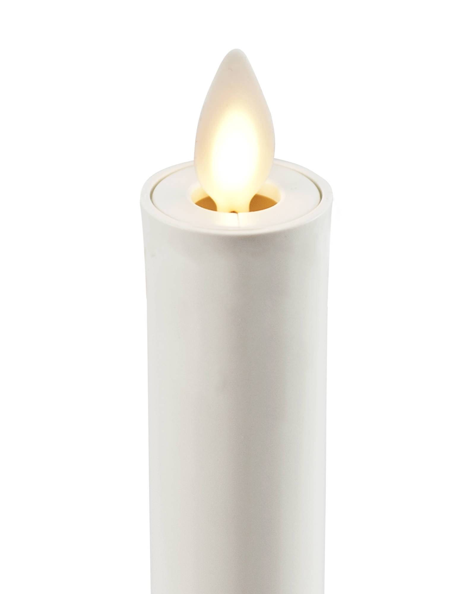 Battery operated window candles with timer -  Miracle Flame Battery Operated Window Candles
