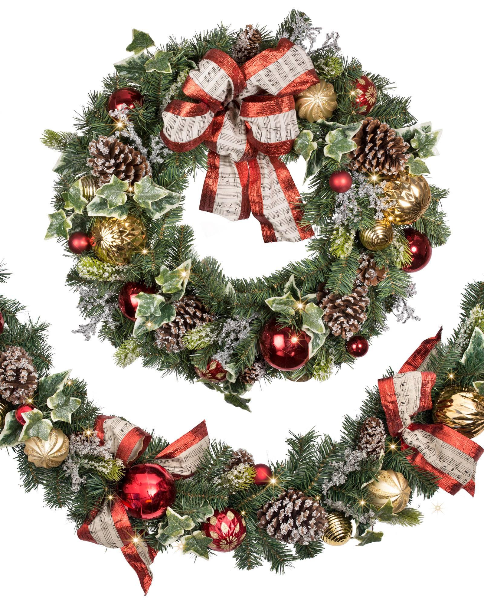 Christmas Carols Garland Main
