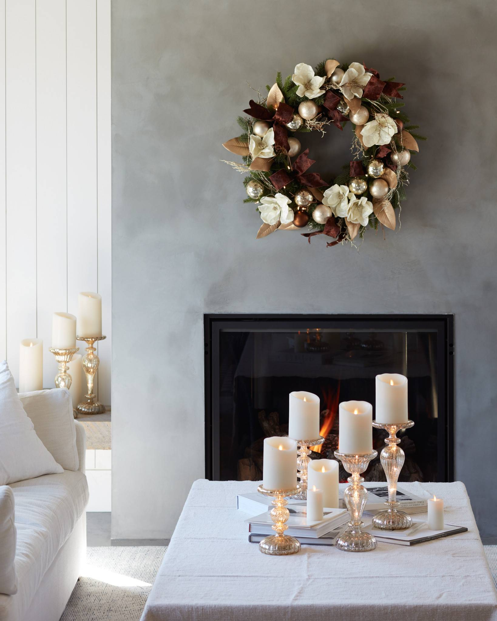 ... Miracle Flame LED Wax Pillar Candle by Balsam Hill