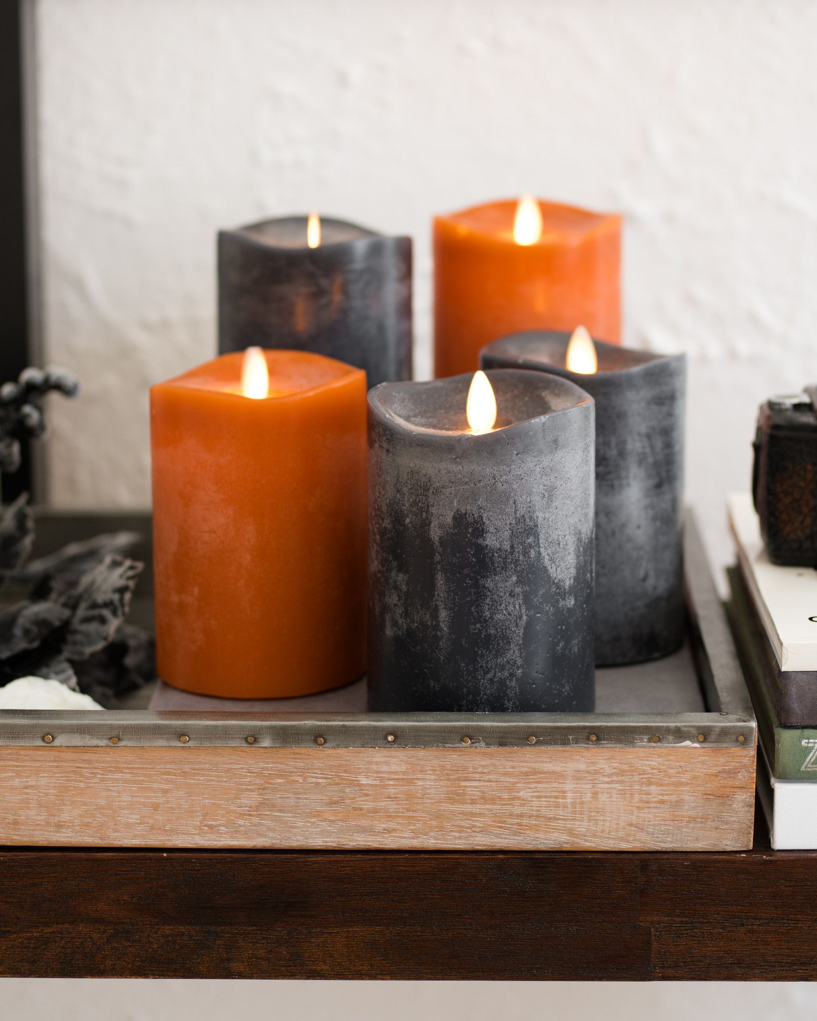 Miracle Flame LED Wax Fall Candle