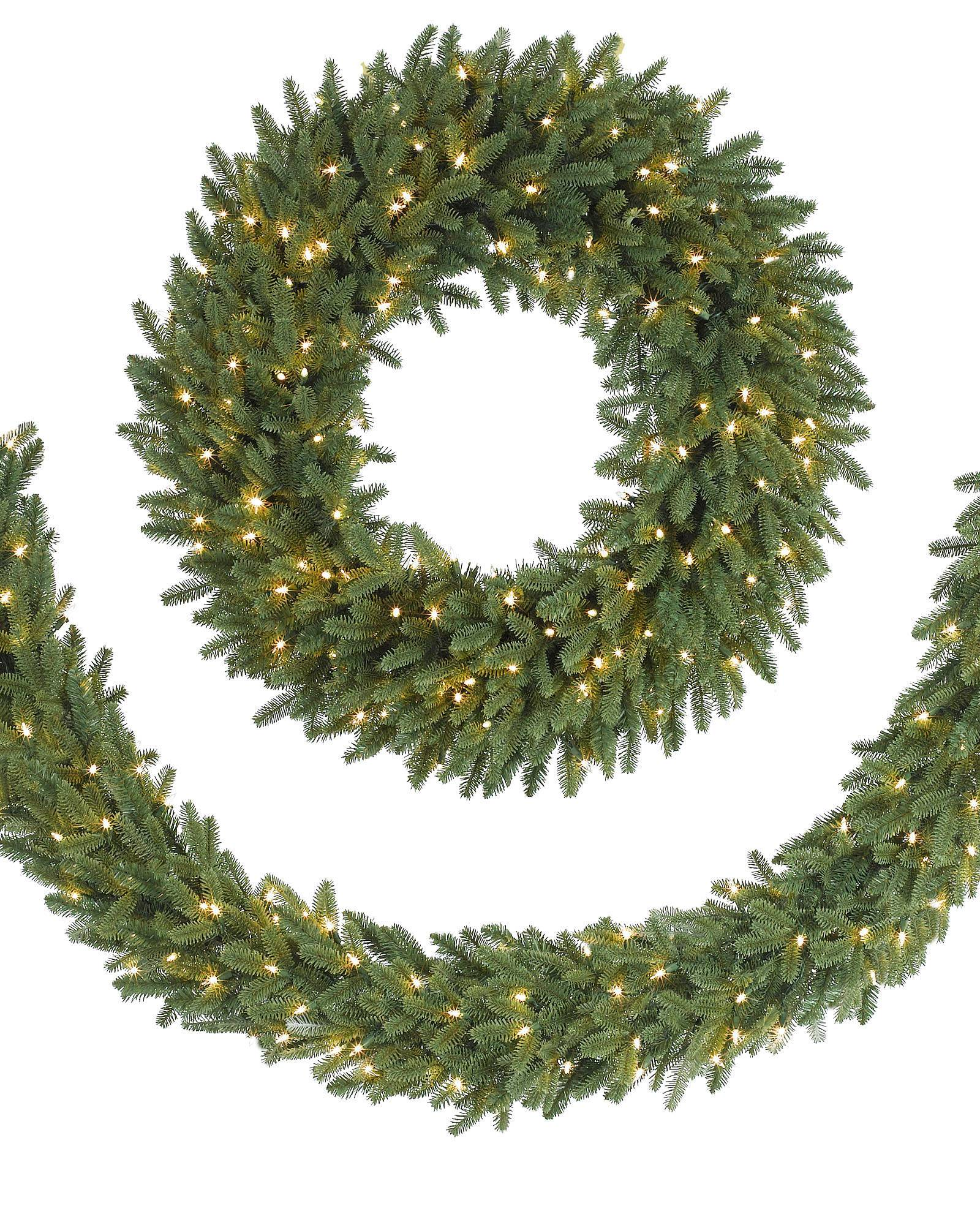 decor july christmas decorated crystal wreaths in valley oregonian wreath tri candle artificial