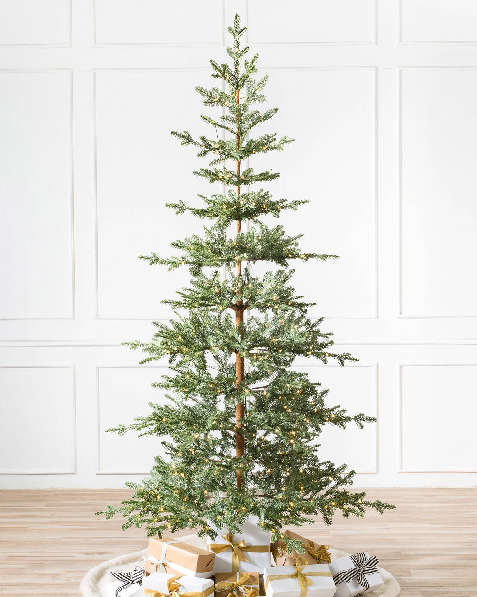 alpine balsam fir artificial christmas tree by balsam hill - Artificial Christmas Trees