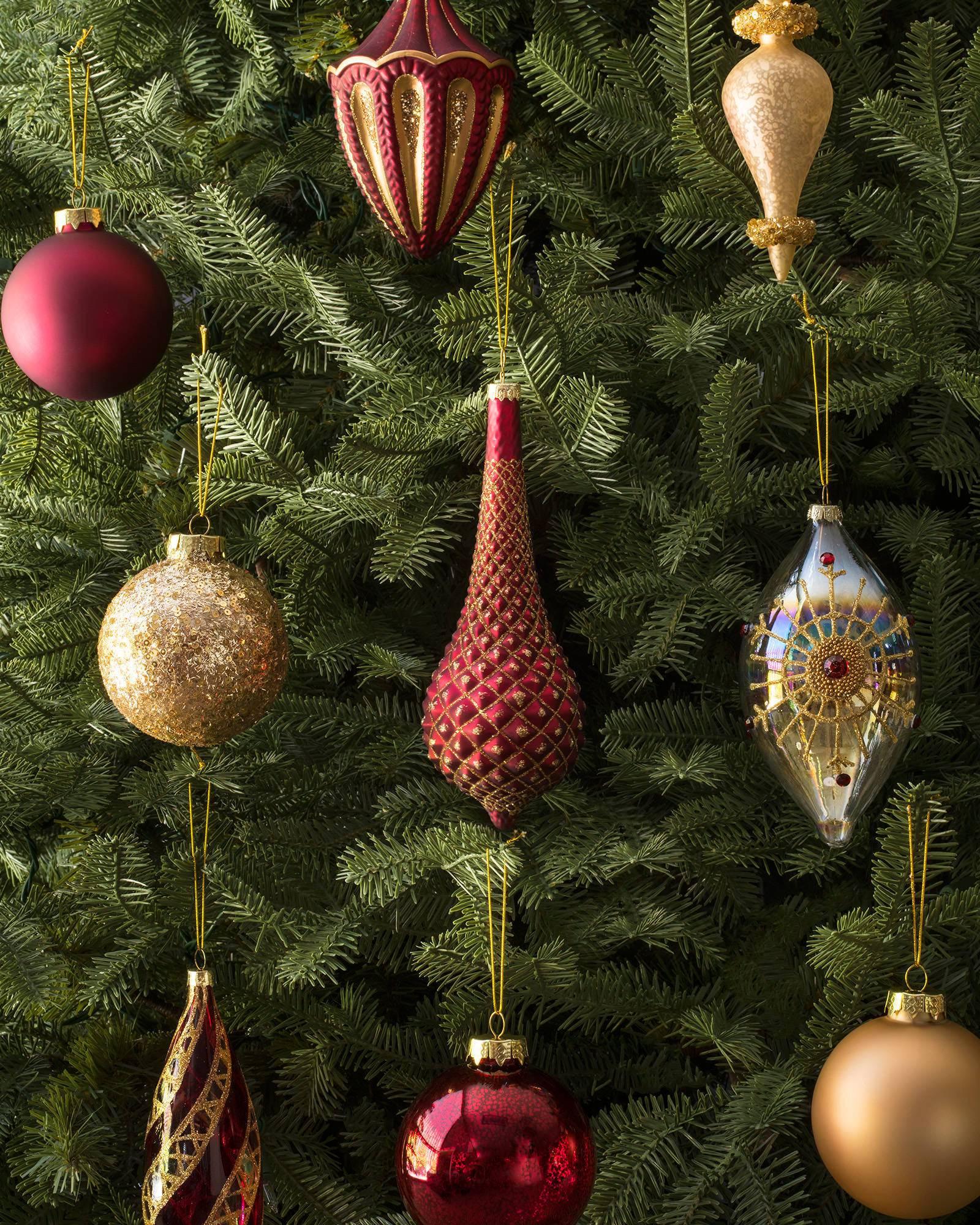 Set of 12 Noel Ornaments  Balsam Hill