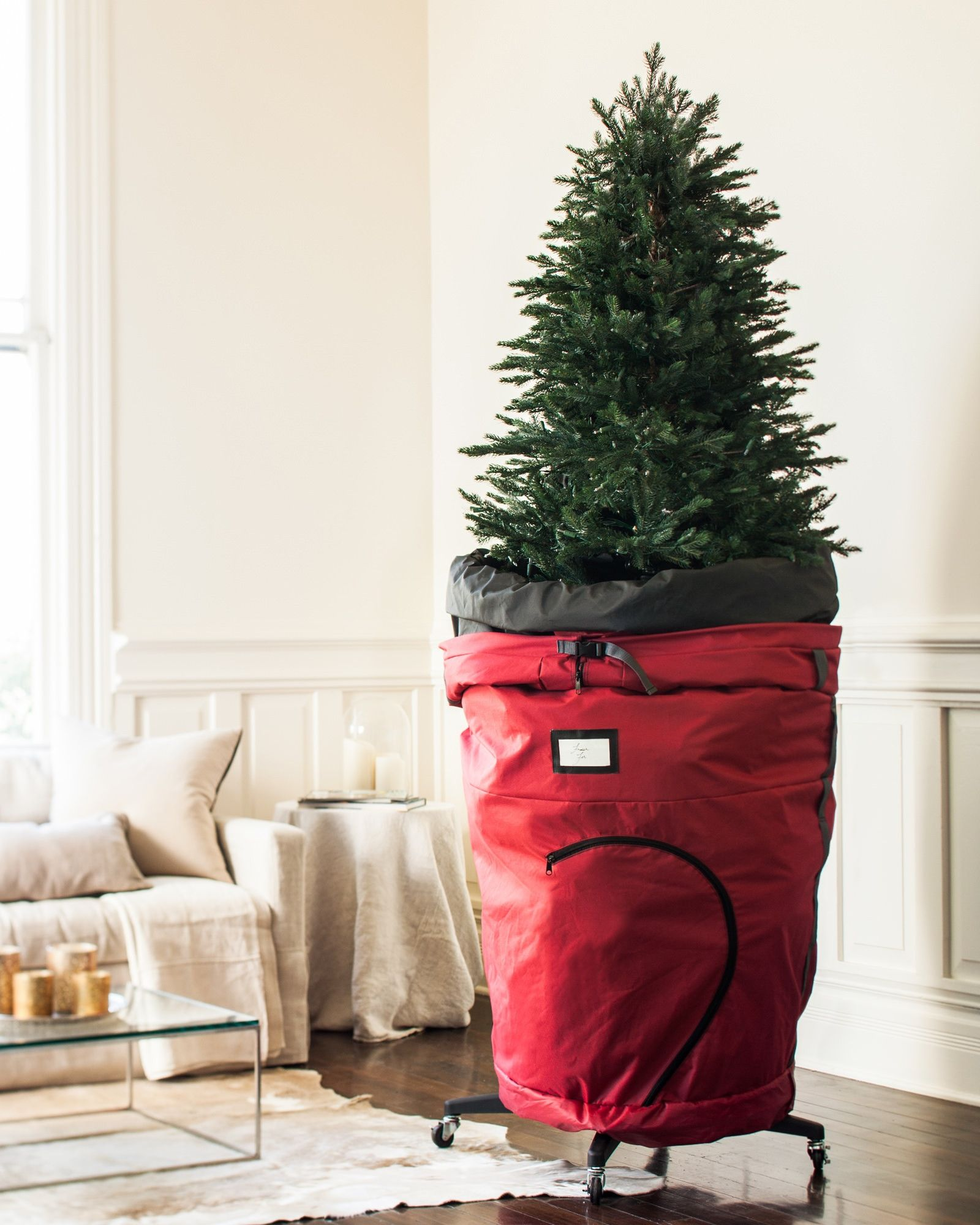 Rolling Christmas Tree Storage Bag | Balsam Hill