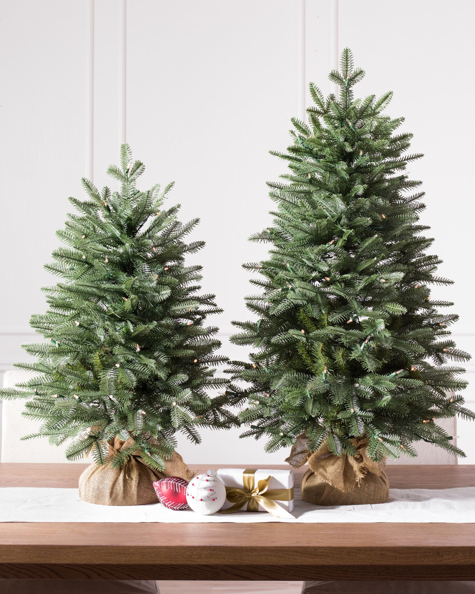 Christmas Tree Tabletop Part - 49: Balsam Fir Tabletop Tree By Balsam Hill