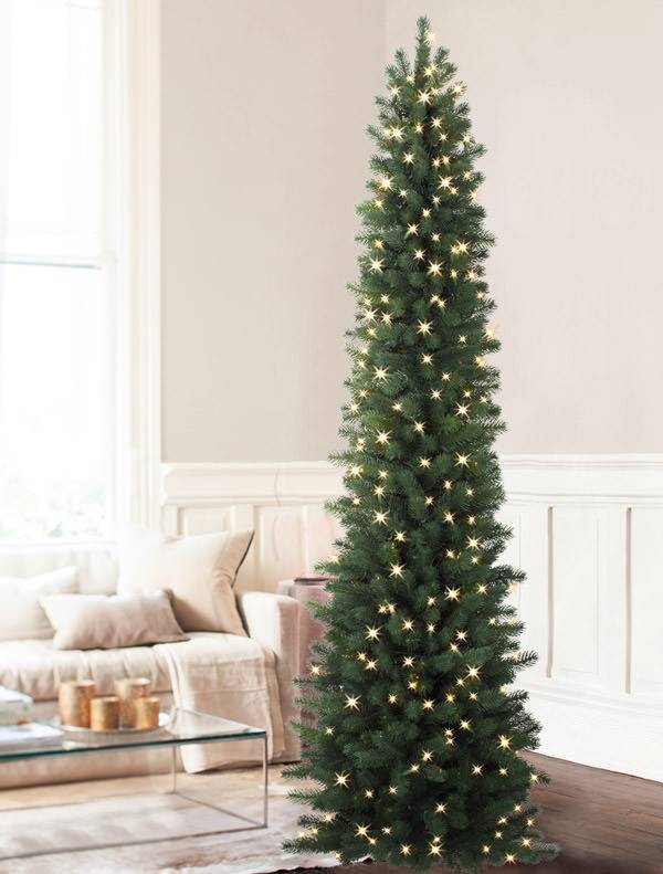 Sonoma Pencil Christmas Tree | Balsam Hill