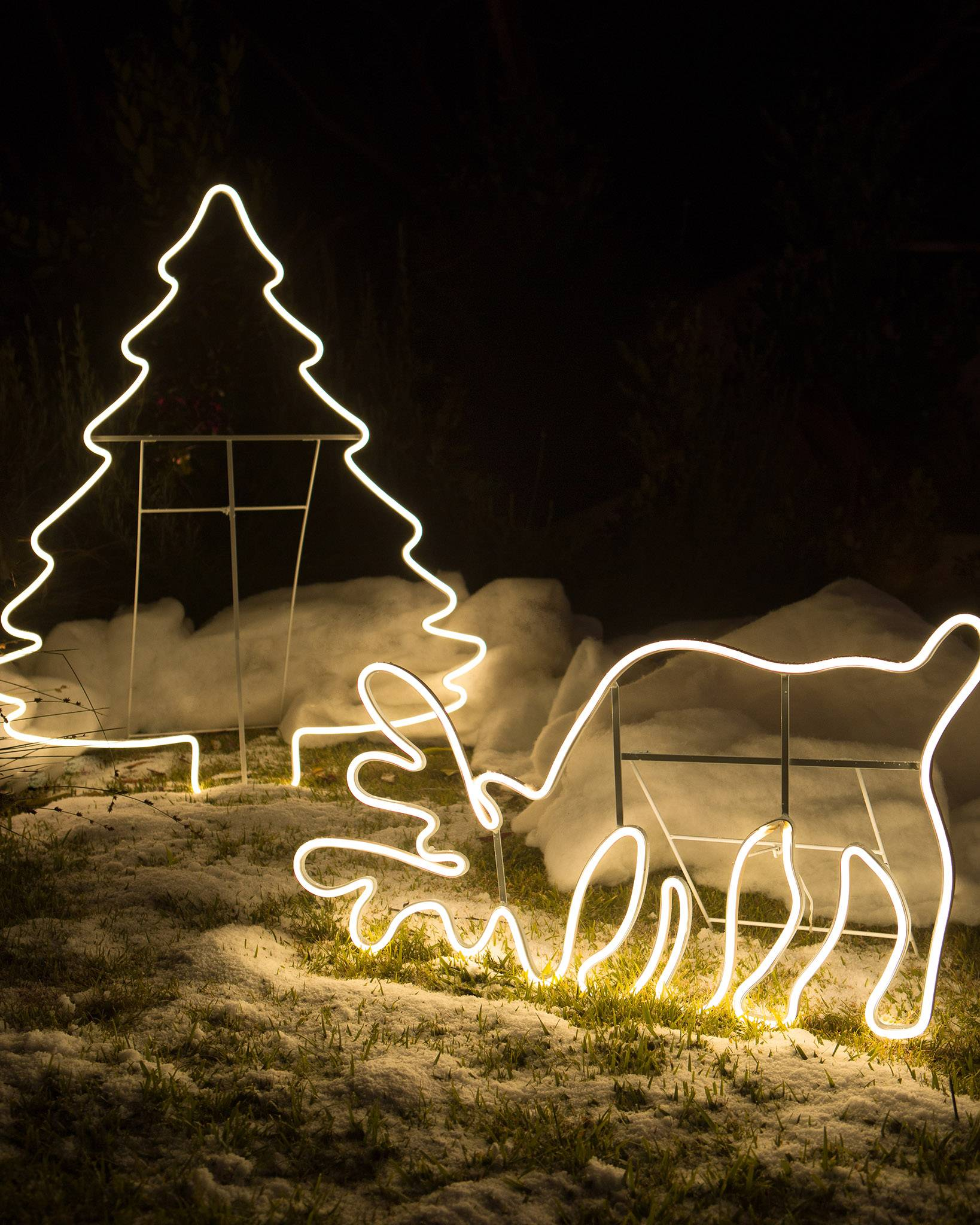 Outdoor led holiday silhouettes balsam hill outdoor led holiday silhouettes by balsam hill aloadofball Choice Image