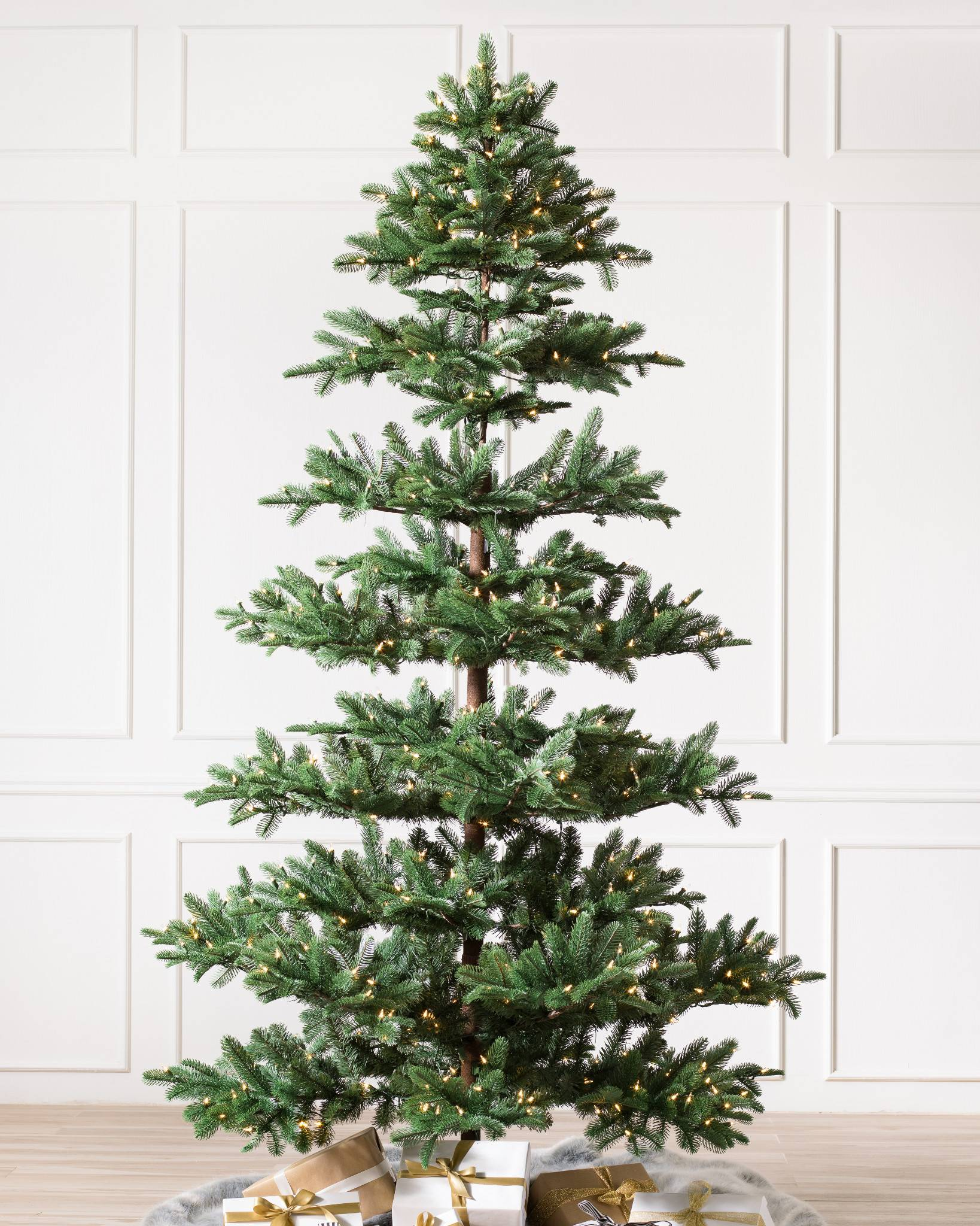 mountain fir artificial christmas tree by balsam hill - Mountain King Christmas Trees