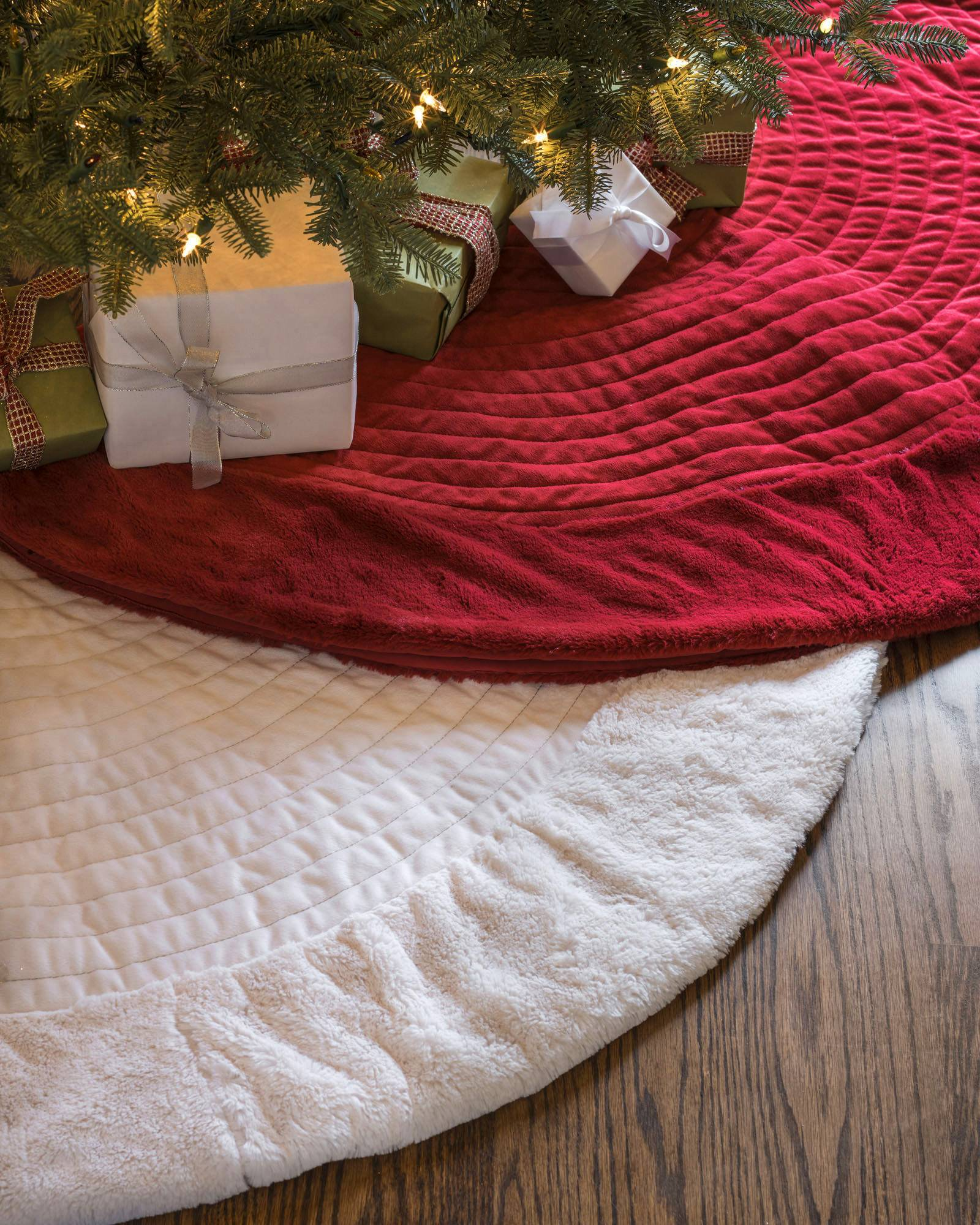 berkshire quilted tree skirt - Christmas Tree Skirts