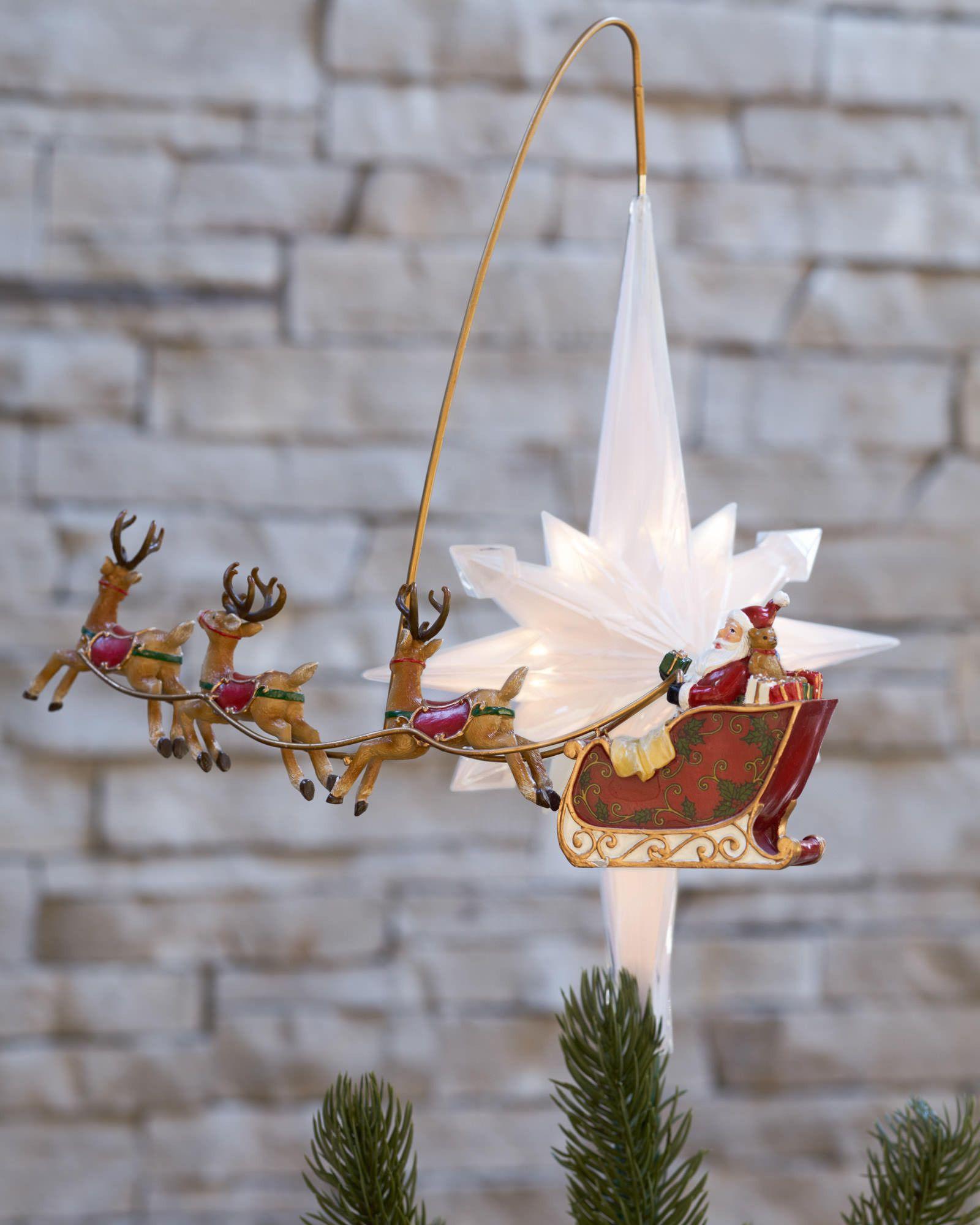 Revolving Christmas Tree Topper