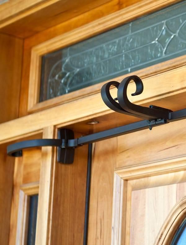 Double Door Garland Hanger For 52 Quot To 82 Quot Doors Balsam Hill