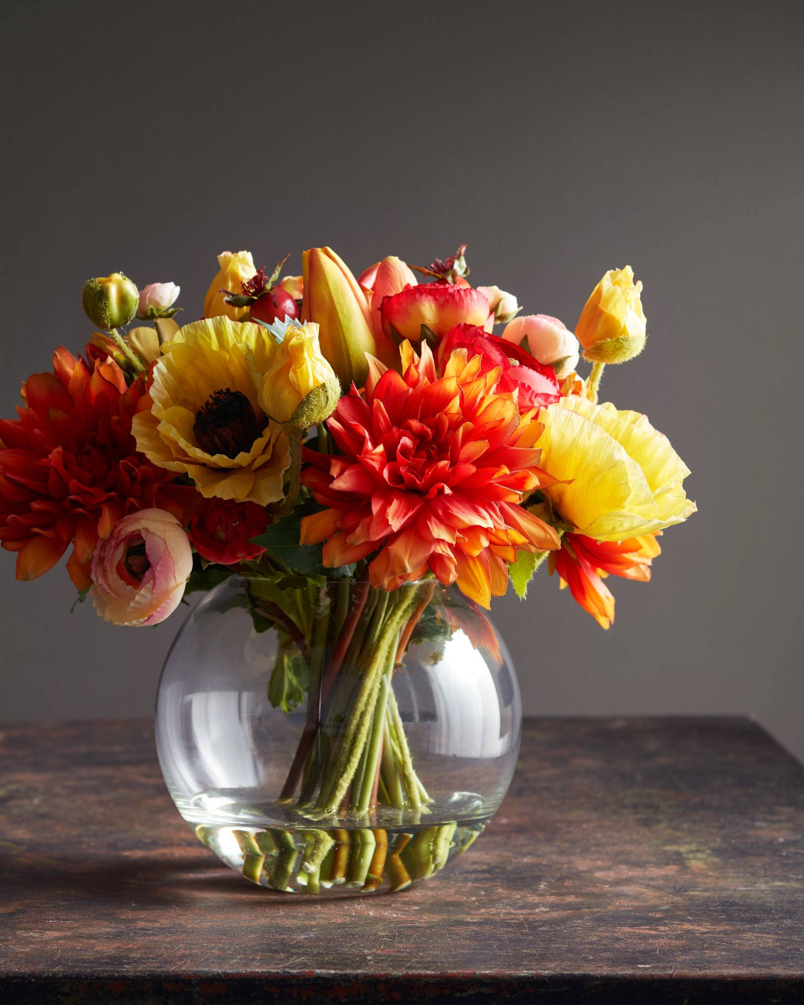 ... Mixed Flower Arrangement ...