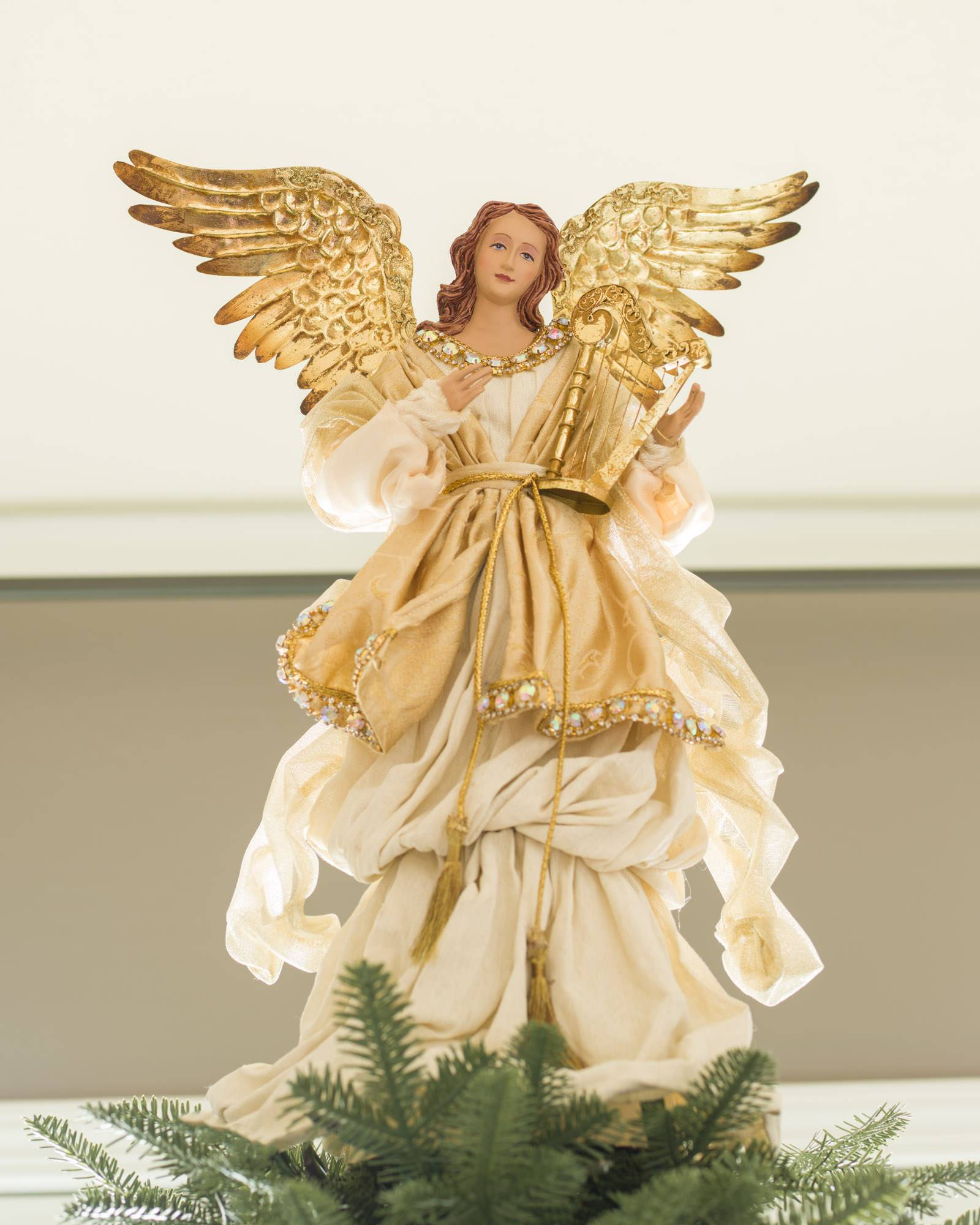 Christmas Tree Toppers Angels Balsam Hill - Christmas Tree Angel Toppers