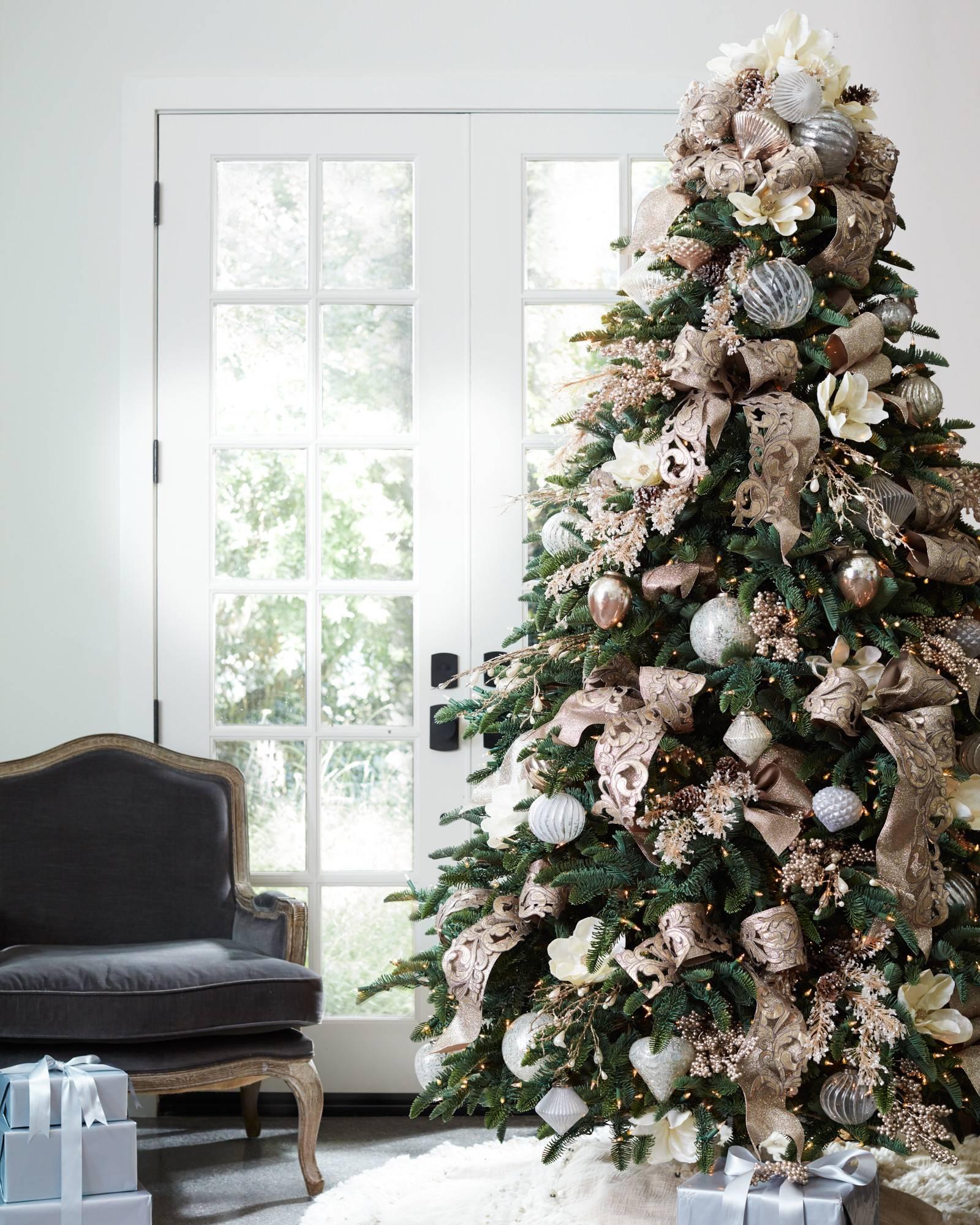 Xmas Tree Decorations With Ribbons: Specialty Christmas Tree Ribbon