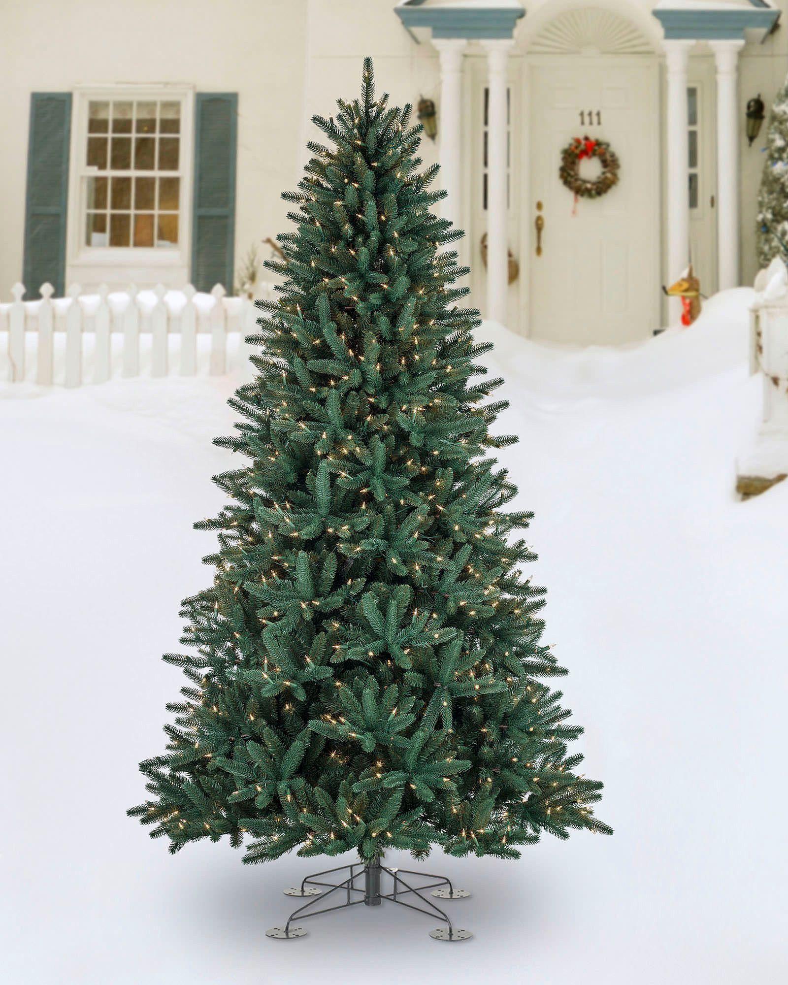 Oakville Narrow Outdoor Christmas Tree | Balsam Hill