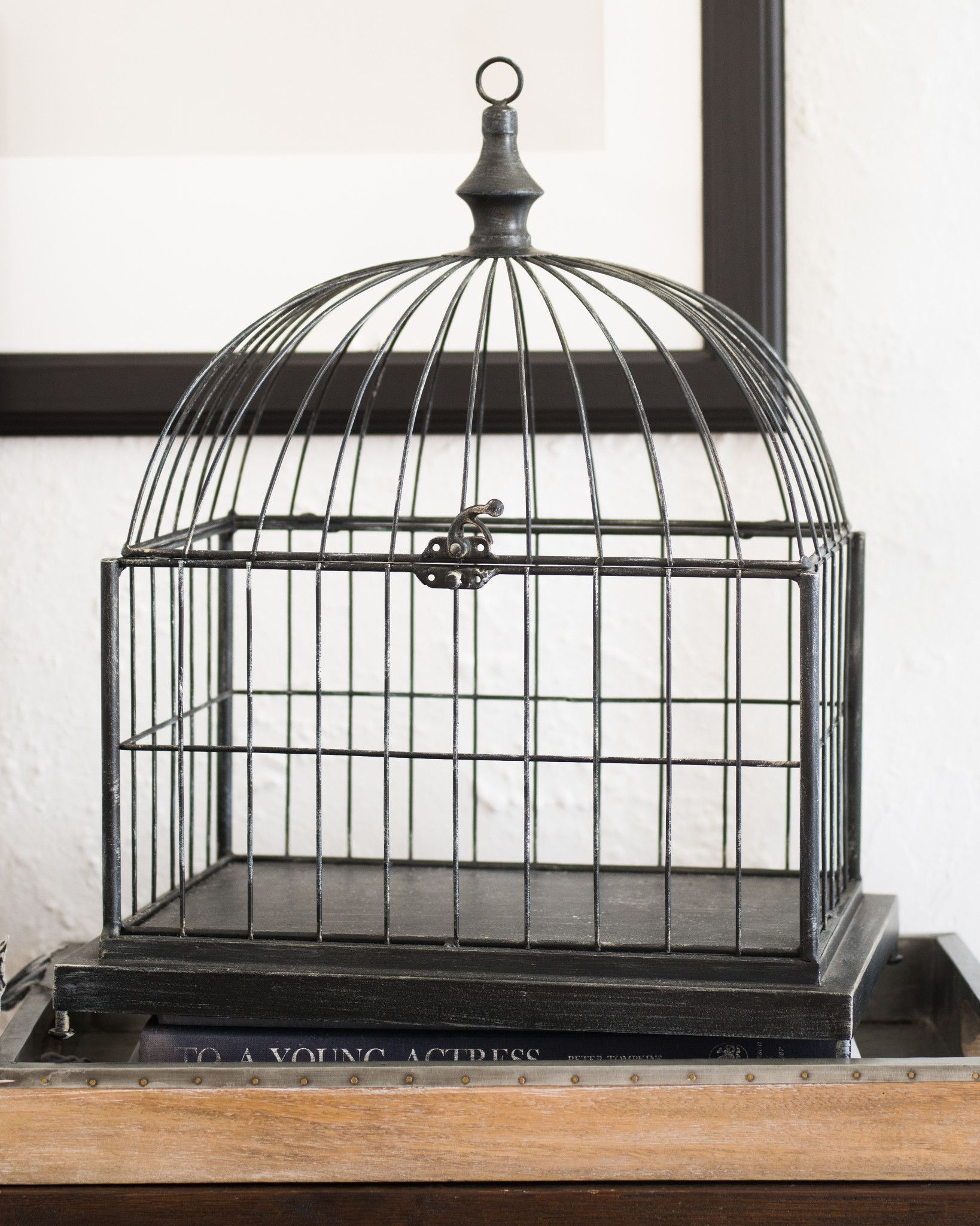 Decorative Bird Cages Part - 24: Decorative Bird Cage By Balsam Hill