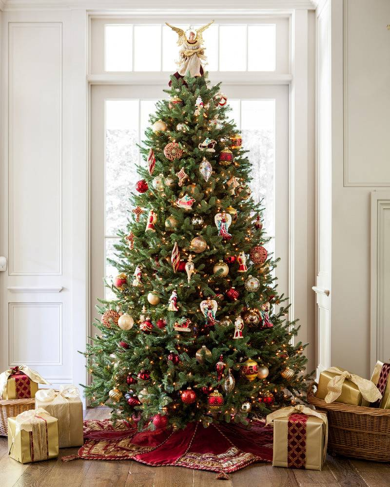 bh balsam fir flip tree 14 - 14 Foot Christmas Tree