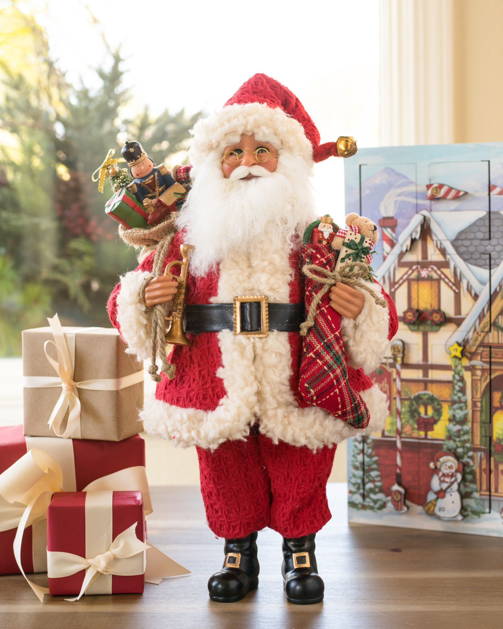 Karen Didion Vintage Toy Santa Balsam Hill