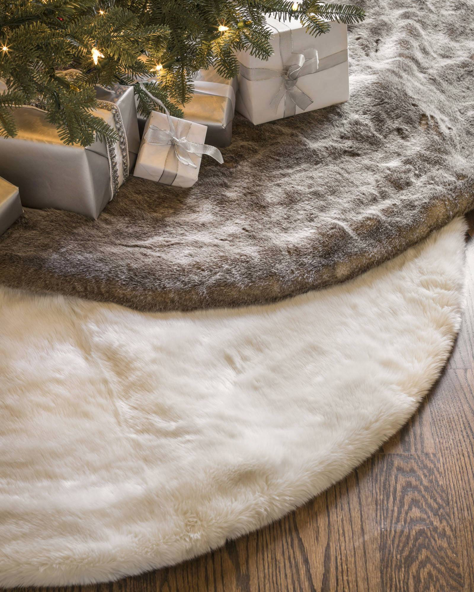 Lodge Faux Fur Tree Skirt Main