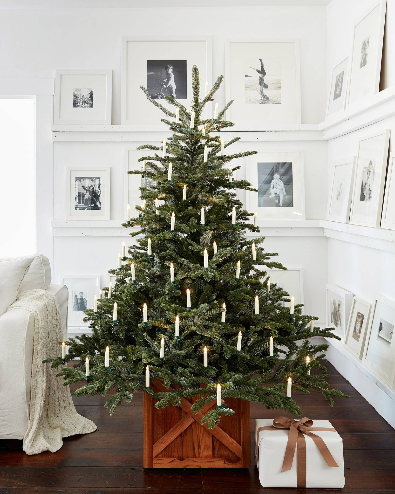 european fir artificial christmas tree by balsam hill in home image - European Christmas Tree