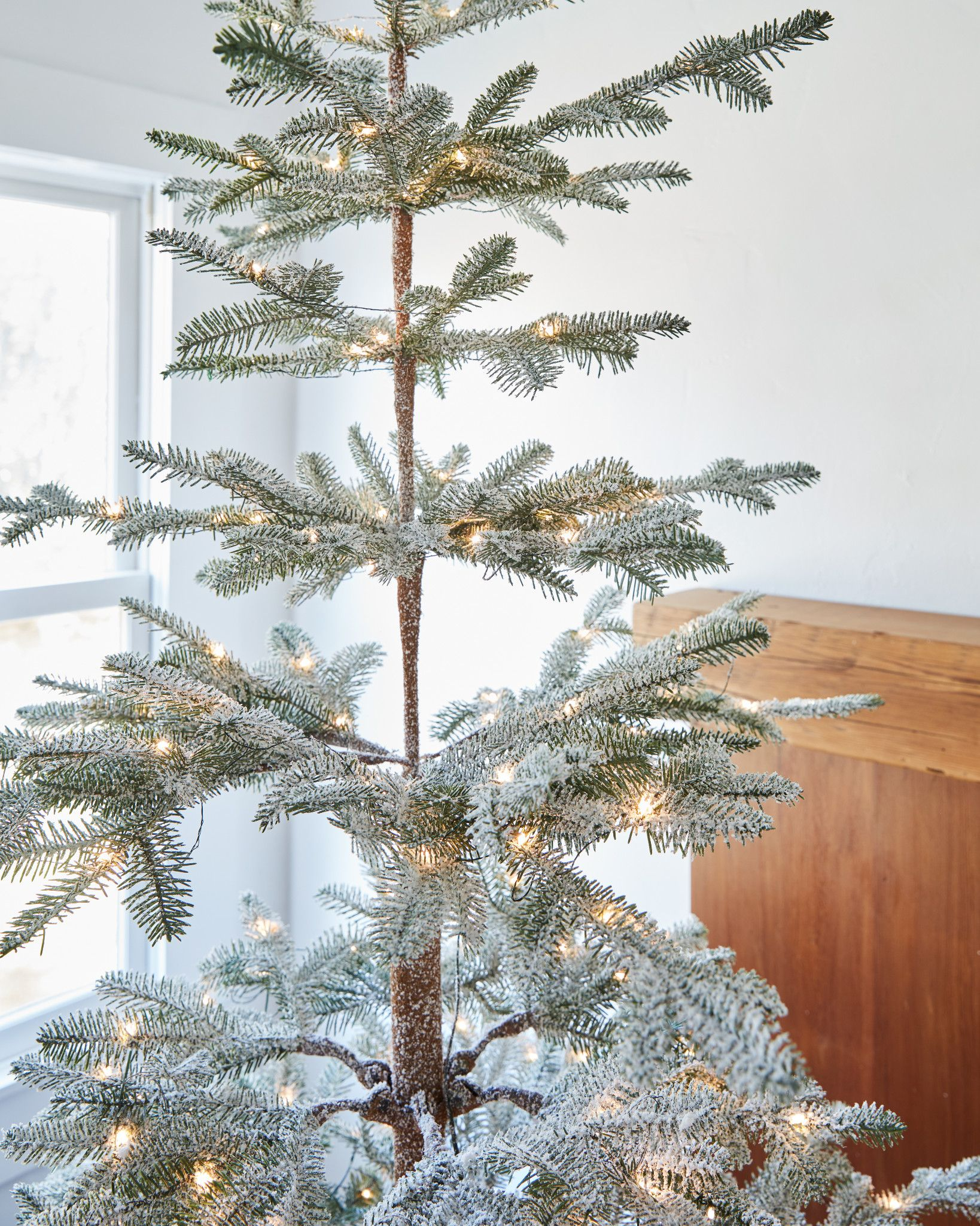 Artificial Flocked Christmas Trees For Sale